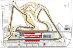 Bahrain International Circuit plan