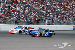 Scott Riggs and Mark Martin thrill the crowd