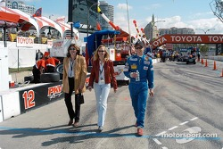 Shelley Unser, Renee Smith and Al Unser