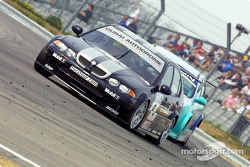 Colin Turkington chased by Shaun Watson-Smith