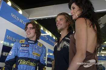 GQ Magazine photoshoot: Fernando Alonso and models