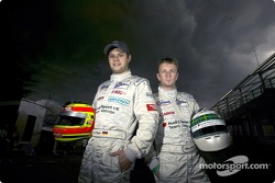Pierre Kaffer and Allan McNish