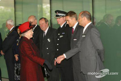 Ron Dennis and Her Majesty The Queen Elizabeth II
