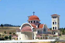 A typical Cypriot church