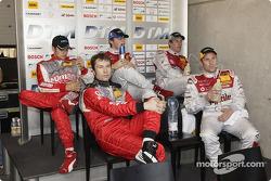 Heinz-Harald Frentzen, Tom Kristensen, Timo Scheider, Martin Tomczyk and Frank Biela