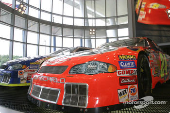 Visit of Hendrick Motorsports: #24 and #48 cars on display