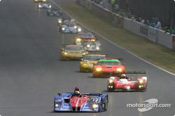 Start: #27 Intersport Racing Lola Judd: Jon Field, Duncan Dayton, Larry Connor
