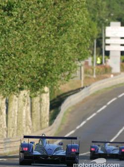 #8 Audi Sport UK Team Veloqx Audi R8: Frank Biela, Pierre Kaffer, Allan McNish
