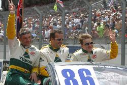 Drivers presentation: Nikolai Vasiliev, Alexei Fomenko, Robert Nearn