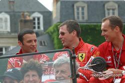 Darren Turner, Colin McRae and Rickard Rydell