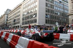 Cristiano da Matta takes the TF103 for a tour of London