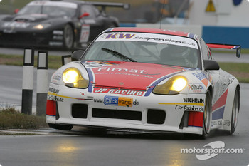 #59 Jens Petersen Porsche 996 GT3 RS: Jens Petersen, Oliver Mathai, Jan-Dirk Lueders