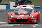 #19 JMB Ferrari 575 M Maranello: Mauro Casadei, Antoine Gosse, Andrea Garbagnati