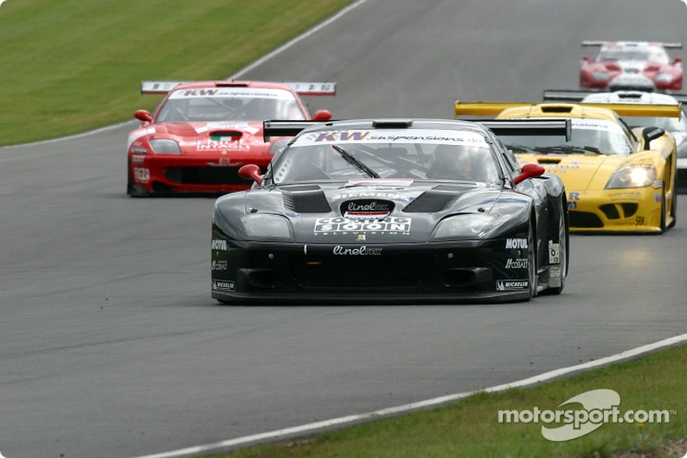 #17 JMB Racing Ferrari 575 M Maranello: Jaime Melo, Karl Wendlinger