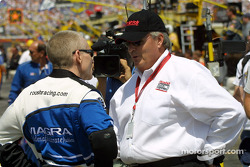 Mark Martin and Rick Hendrick