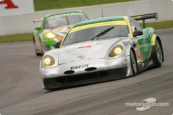 #50 Panoz Motorsports Panoz Esperante GTLM: Gunnar Jeannette, David Saelens