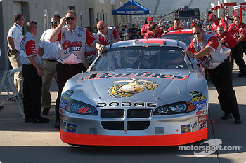 Team Coors Light waits for inspection