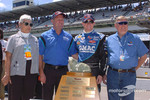 Top Wrench Award presented to Brian Vickers and the GMAC crew