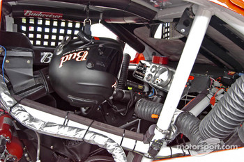 Cockpit of Dale Earnhardt Jr.'s car