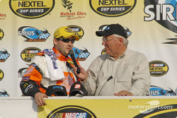 Tony Stewart interviewed by Mike Paz