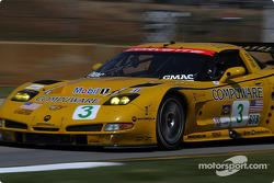 #3 Corvette Racing Corvette C5-R: Ron Fellows , Johnny O'Connell, Max Papis