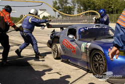 #71 Carsport America Dodge Viper GTS R: Tom Weickardt, Jean-Philippe Belloc in the pit