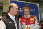 Head of Audi Motorsport Dr Wolfgang Ullrich and Mattias Ekstrm