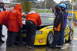 Toll Racing had problems with the bonnet pins and wasted valuable time