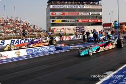 Super Comp final: Tommy Costales and Rick Beckstrom
