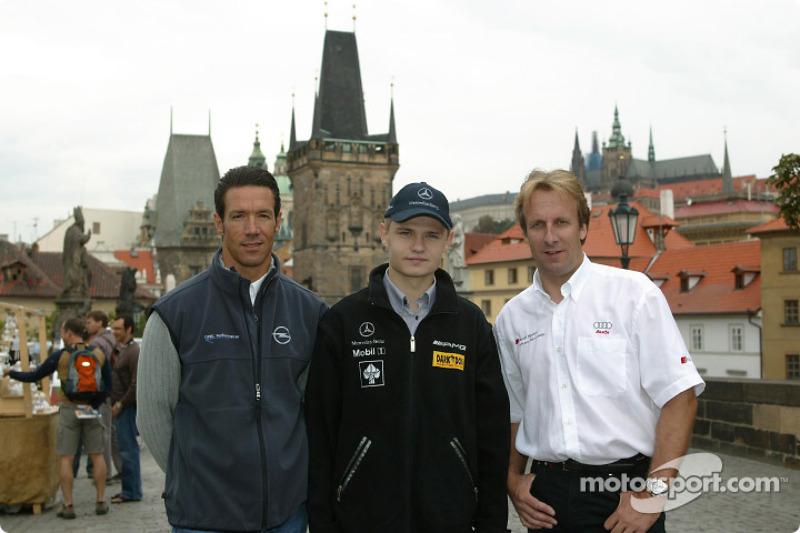 Manuel Reuter, Jarek Janis and Frank Biela