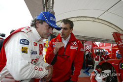 Carlos Sainz and Marc Marti