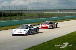 #6 Michael Shank Racing Lexus Doran: Oswaldo Negri Jr., Burt Frisselle, #4 Howard - Boss Motorsports Pontiac Crawford: Butch Leitzinger, Elliott Forbes-Robinson