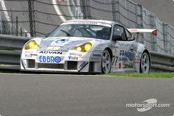 #77 Choro Q Racing Team Porsche 911 GT3 RS: Kazuyuki Nishizawa, Haruki Kurosawa