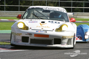 #80 Sebah Automotive Porsche 911 GT3 RS: Marc Lieb, Xavier Pompidou