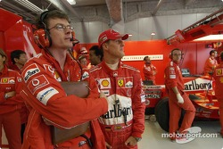 Michael Schumacher and Cris Dyer