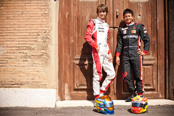 Esteban Gutierrez and Rio Haryanto, winners at round 2 of the GP3 series