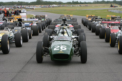 Lotus F1 grid formation