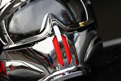 McLaren pit crew helmet