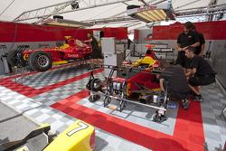 Racing engineering mechanics at work