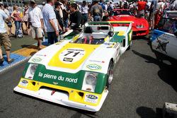 #71 Chevron B36 1976: Lucien Rossiaud, Nicolas Beloou, Jean-Christian Duby
