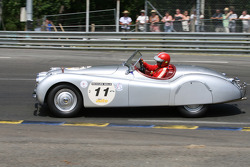 #11 Jaguar XK120 Roadster 1950: Didier Benaroya, Philippe Dischamp