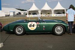 #64 Aston Martin DB3 1953: Mark Lee Midgley, David Scott