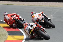 Marco Simoncelli, San Carlo Honda Gresini, Andrea Dovizioso, Repsol Honda Team, Nicky Hayden, Ducati Marlboro Team