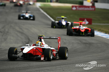 Esteban Gutierrez leads Stefano Coletti