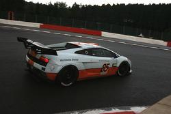 #85 Gulf Team First Lamborghini LP560-4 GT3: Fabien Giroix, Anthony Beltoise, Frédérique Fatien, Jean-Pierre Valentini