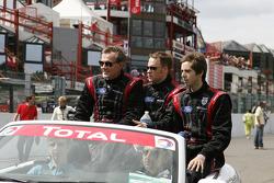Team RPM: Peter Bamford, Matt Griffin, Alex Mortimer