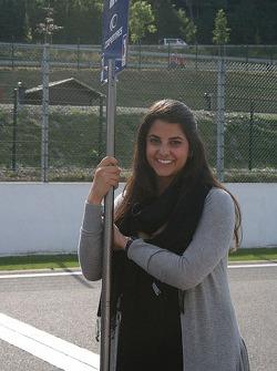 Felipe Nasr's sister