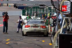 #55 Sport Garage Porsche BMW Alpina B6 GT3: Romain Brandela, Gael Lesoudier, Thierry Prignaud, Thierry Stepec