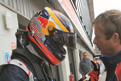 Jean-Eric Vergne with Richard Dean