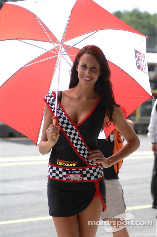LCR Honda MotoGP girl